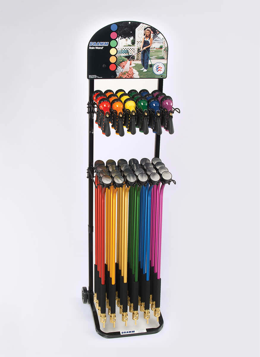ColorMark Rain Wands and Revolver Display