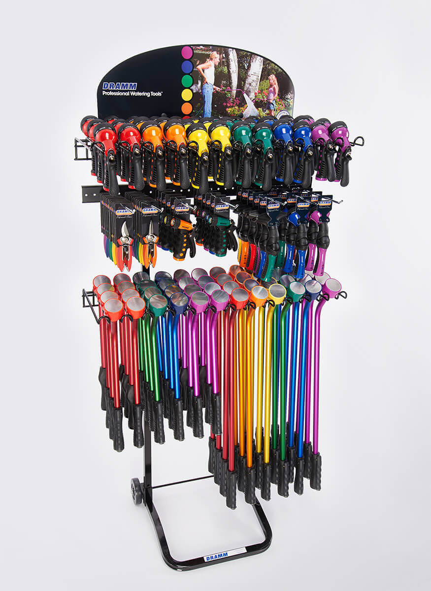 Touch'N Flow • Hand Watering • Cutting Tools Display