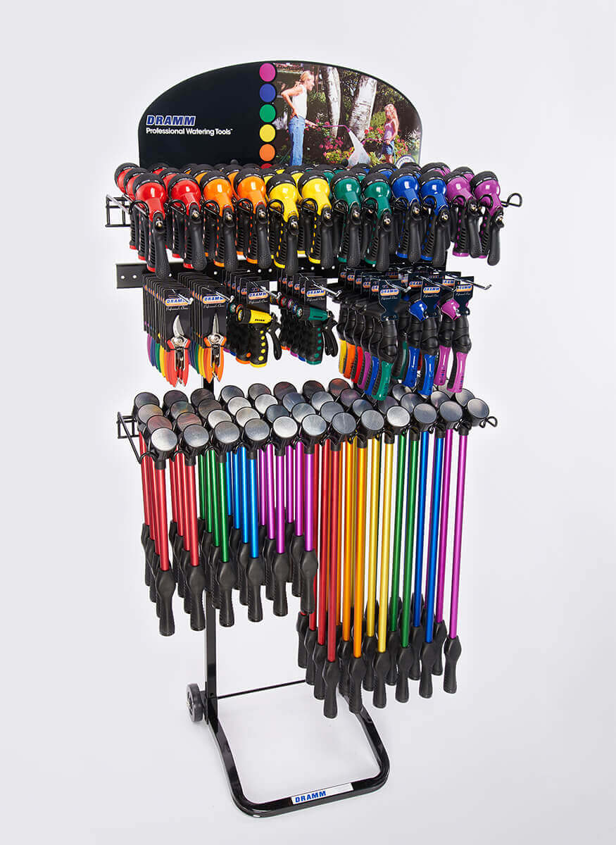 OneTouch / Hand Watering / Cutting Tools Display