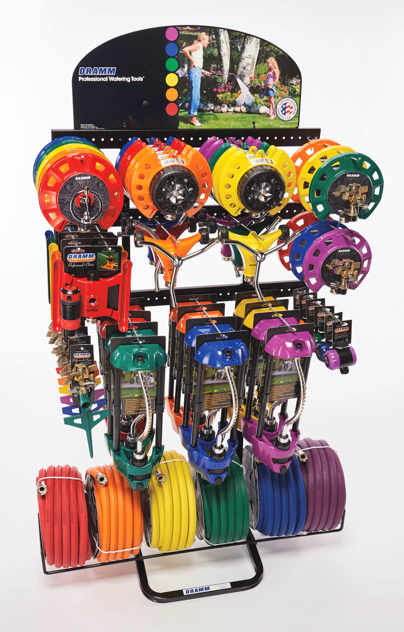 ColorStorm Sprinkler Display With ColorStorm Hose