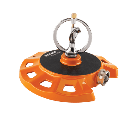 Dramm Orange ColorStorm Spinning Sprinkler 15072 ColorStorm Sprinklers