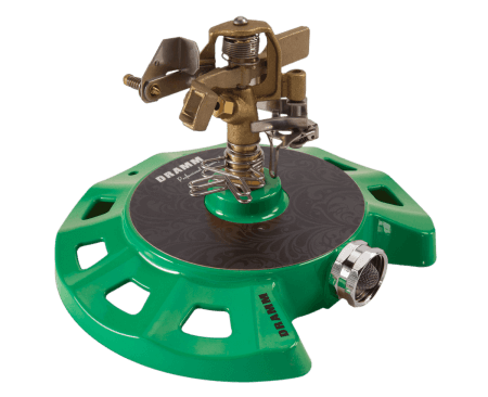 Dramm Green ColorStorm Circular Base Impulse Sprinkler