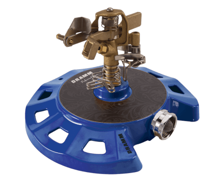 Dramm Blue ColorStorm Circular Base Impulse Sprinkler