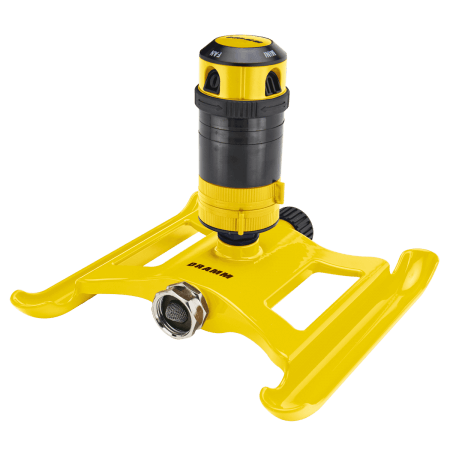 Dramm Yellow ColorStorm 4 Pattern Gear Sprinkler