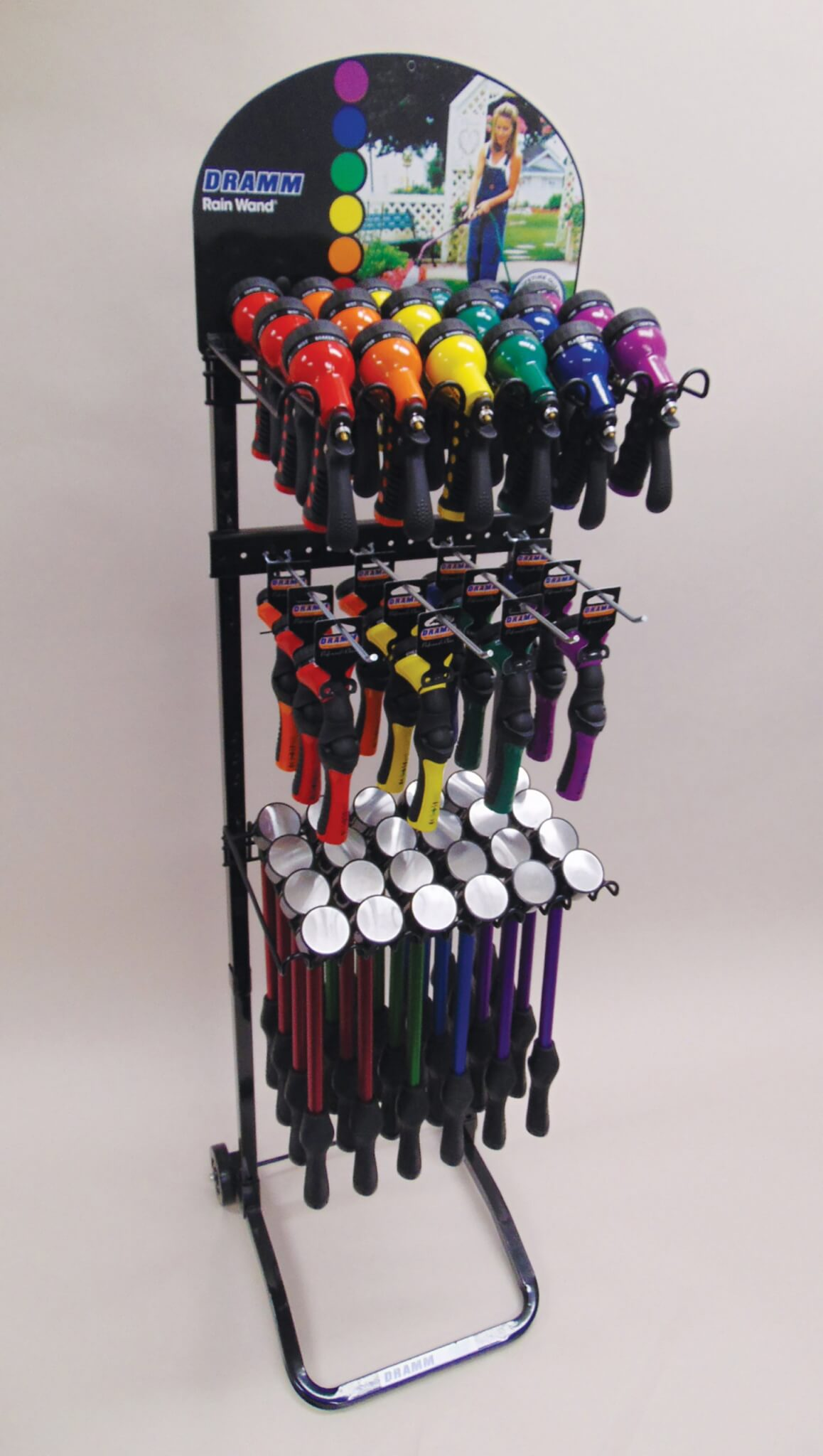 One Touch™ Container Watering Tools Display