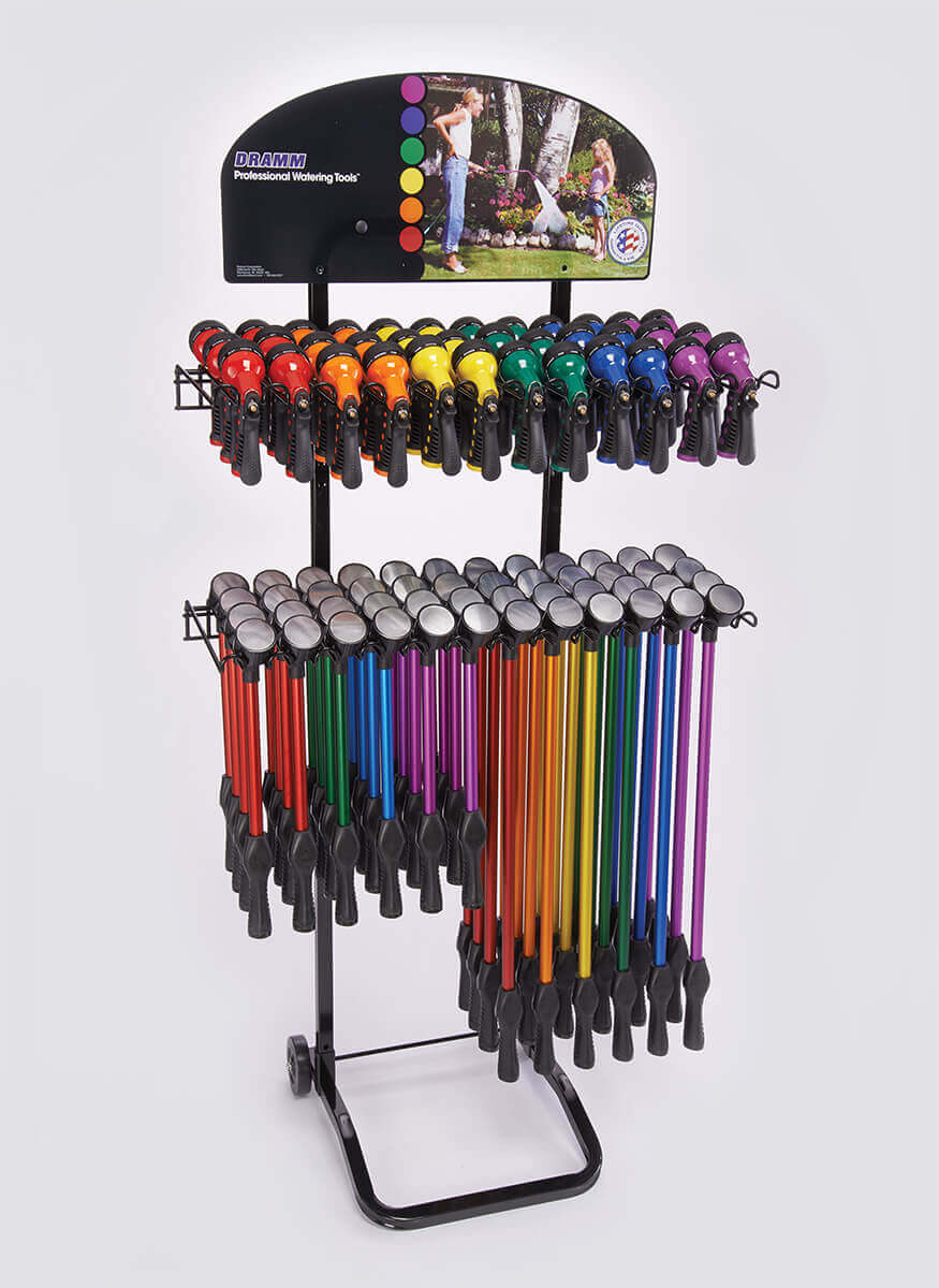 OneTouch Rain Wands / Revolver Display
