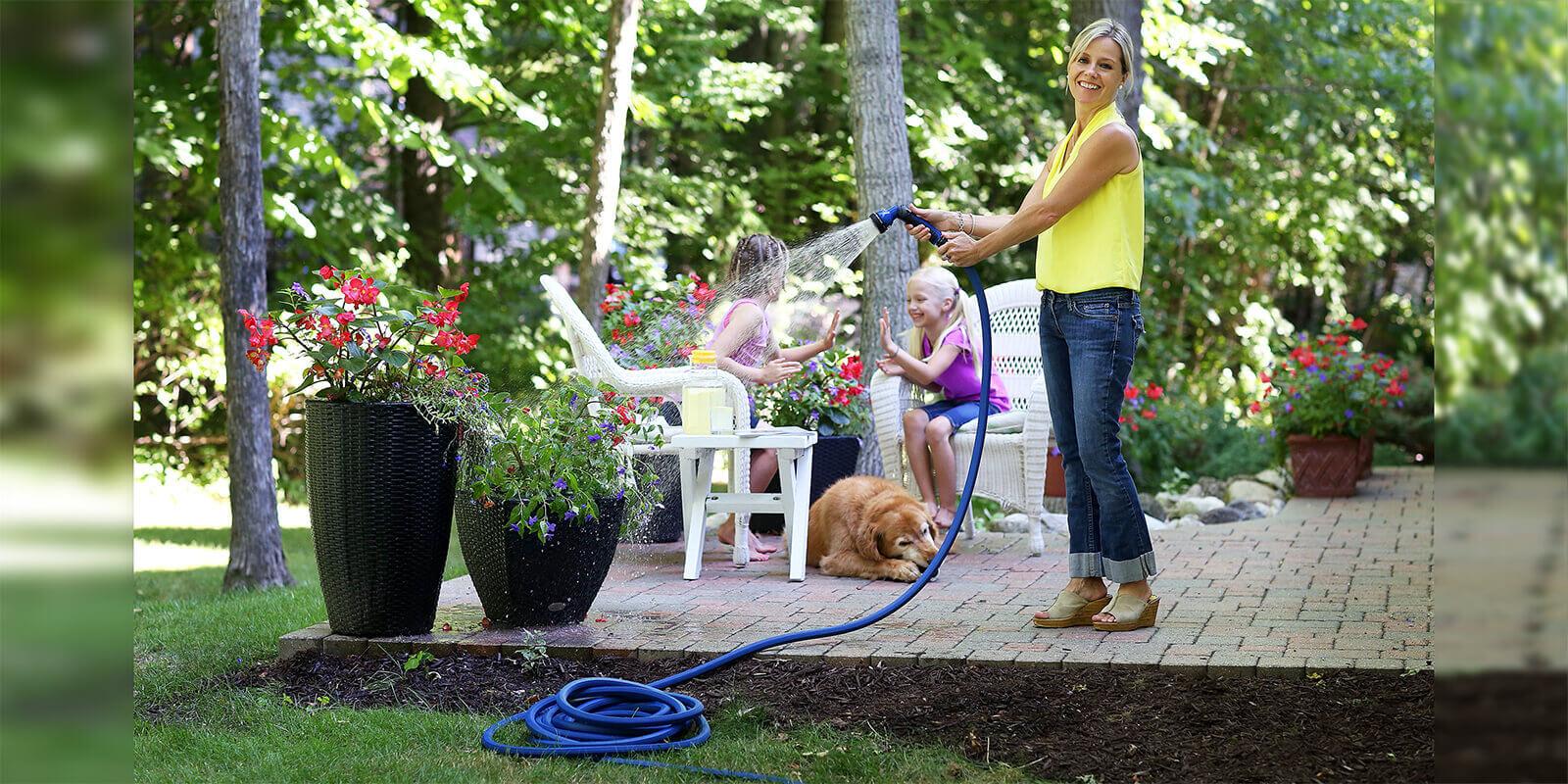 25u2032 ColorStorm ⅝u2033 Garden Hose. Our ColorStorm Premium Rubber ...