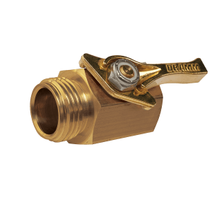 Dramm Heavy-Duty Brass Shut Off Valve 12353