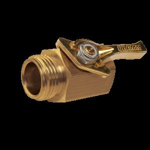 Dramm Heavy-Duty Brass Shut Off Valve 12353