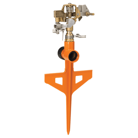 Dramm Orange ColorStorm Stake Impulse Sprinkler 15062