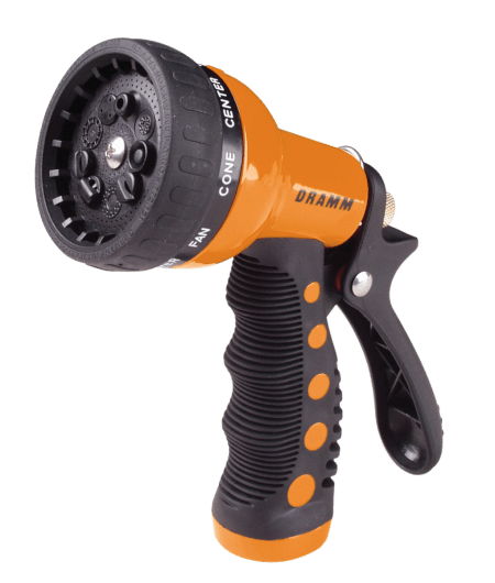 Dramm Orange Touch'N Flow Revolver Spray Gun 12702 Touch N Flow Hand Watering