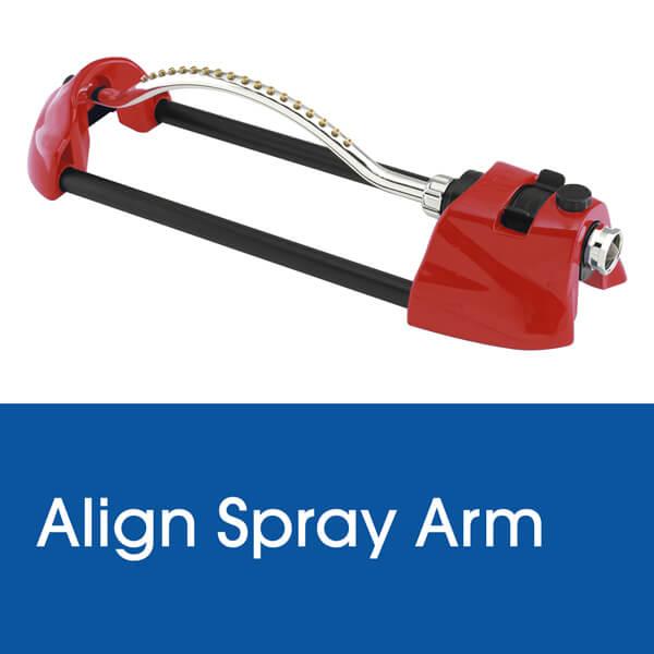 Align Spray Arm on a Dramm Oscillating Sprinkler