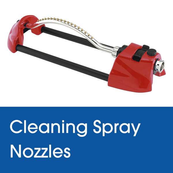 Cleaning Spray Nozzles on a Dramm Oscillating Sprinkler