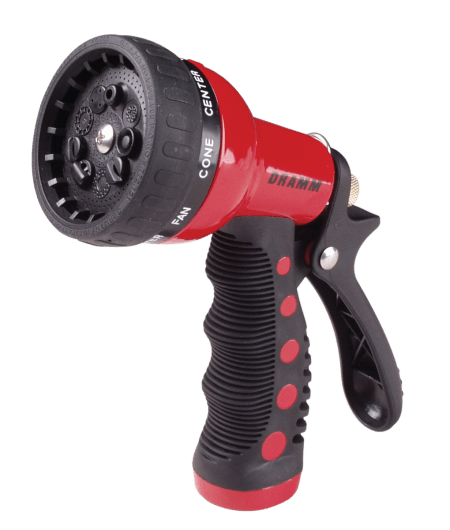 Dramm Red Touch'N Flow Revolver Spray Gun 12701 Touch N Flow Hand Watering